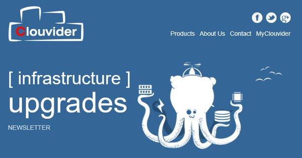 Infrastructure Upgrades Newsletter 22/06/2017