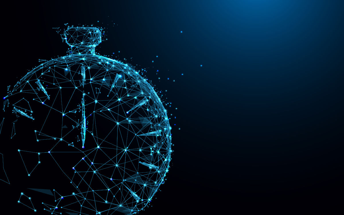 Artistic Clock Image